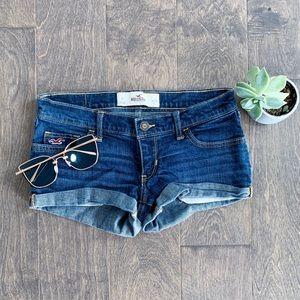 Hollister Jean Denim Short Shorts
